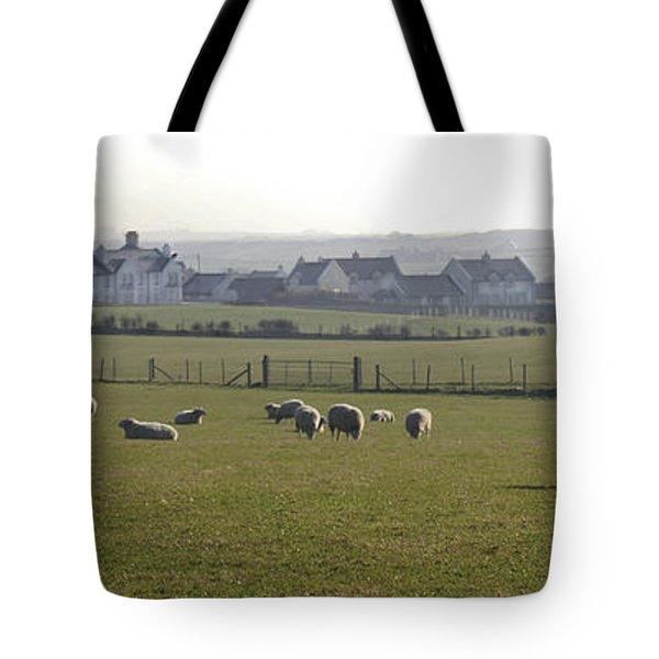 Irish Sheep Farm I Tote Bag
