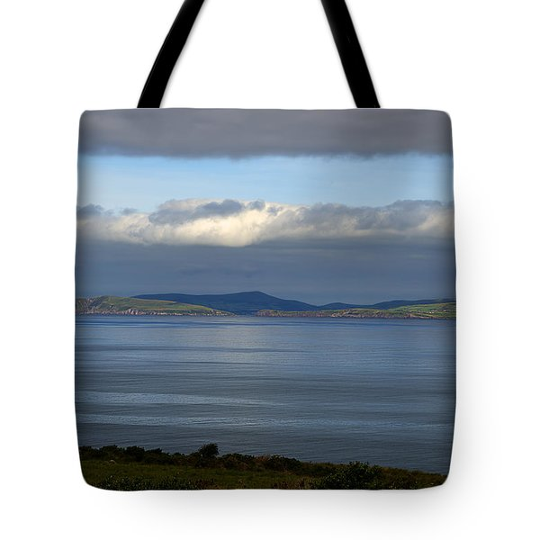 Tote Bag featuring the photograph Irish Sky - Ring Of Kerry, Dingle Bay by Enrico Pelos