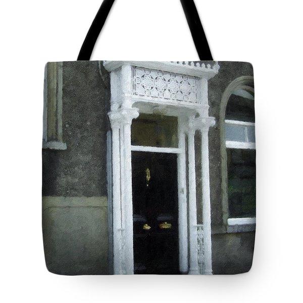 Irish Solicitors Door Tote Bag by Teresa Mucha
