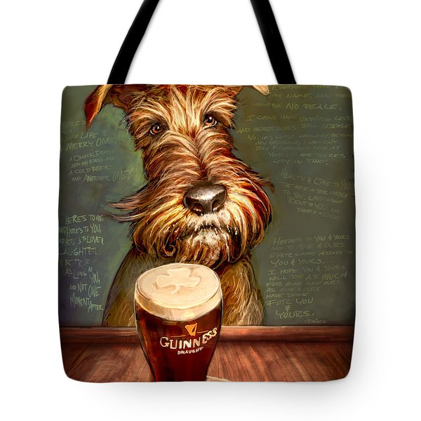 Irish Toast Tote Bag