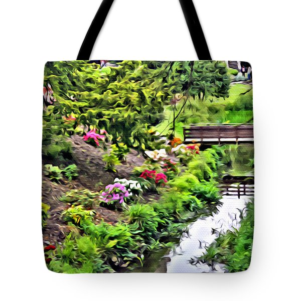 Irish Summer Stream Tote Bag