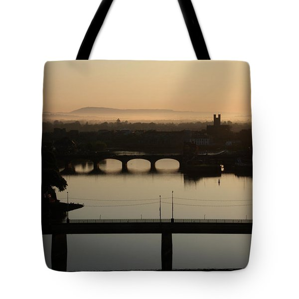 Irish Sunrise  Tote Bag by Catherine Alfidi