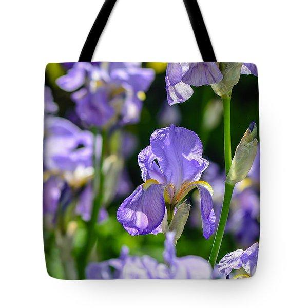 Irisses Tote Bag by Rainer Kersten