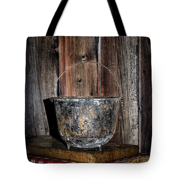 Iron Cauldron Tote Bag