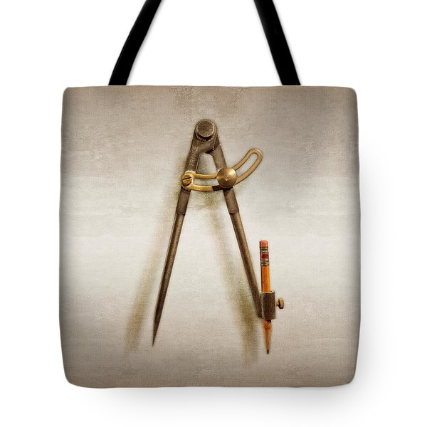 Iron Compass Tote Bag