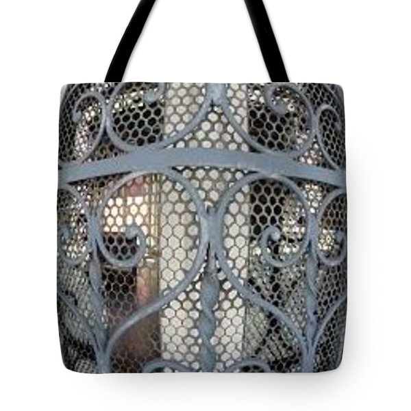 Iron Egg Tote Bag