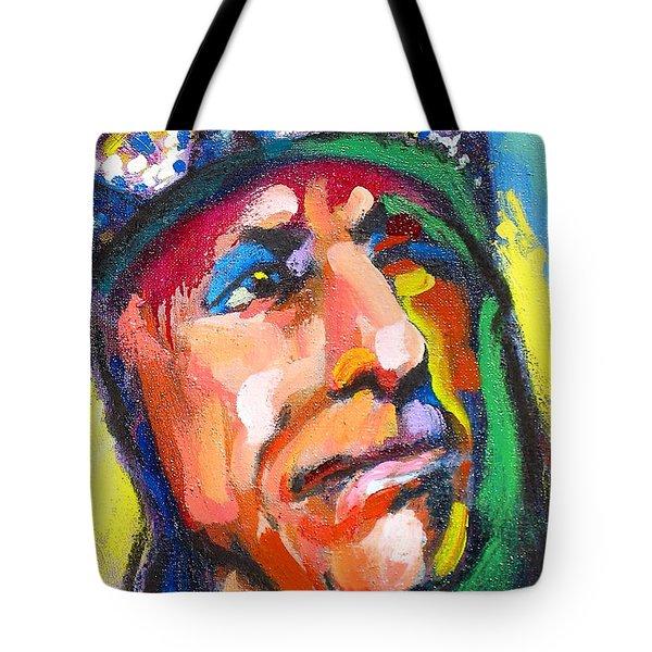Iron Eyes Cody Tote Bag