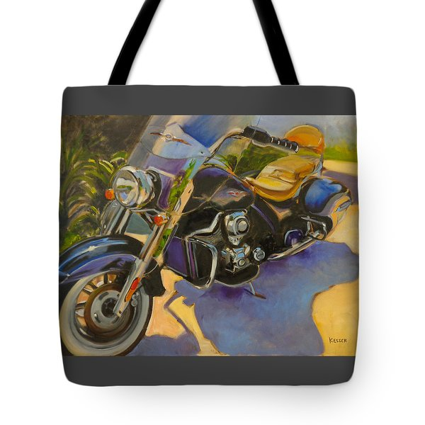 Iron Horse Tote Bag by Kaytee Esser