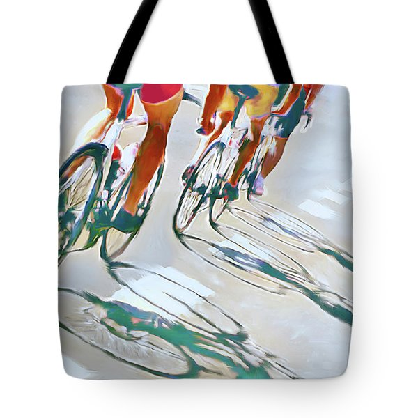 Iron Man Triathlon Tote Bag