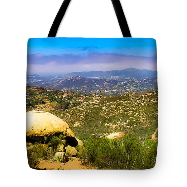 Iron Mountain View Tote Bag