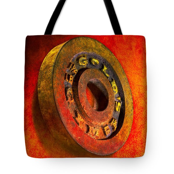 Iron Plate Tote Bag