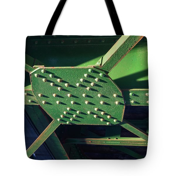 Iron Rail Bridge Tote Bag