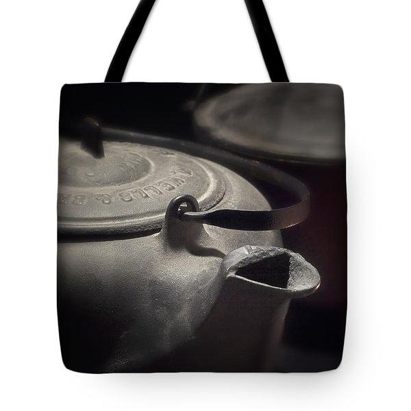 Iron Tote Bag by Tom Mc Nemar