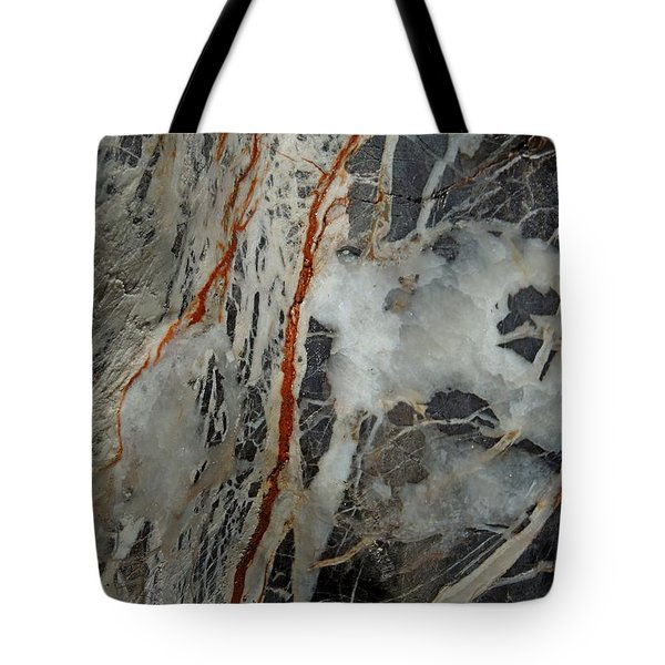 Iron Veins. Tote Bag