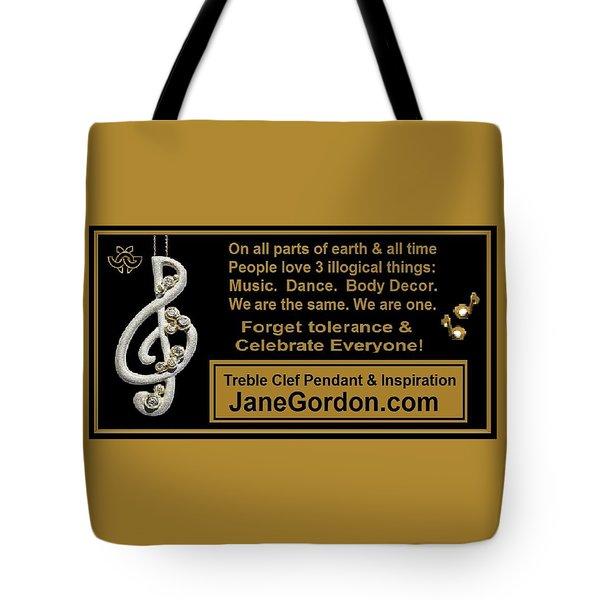 Ironic Harmony Tote Bag