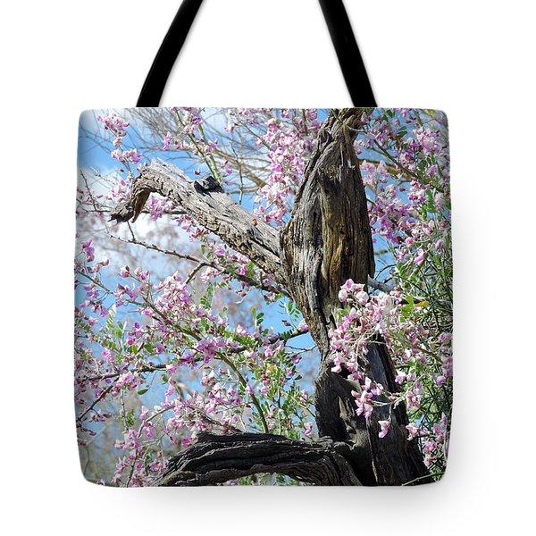 Ironwood In Bloom Tote Bag