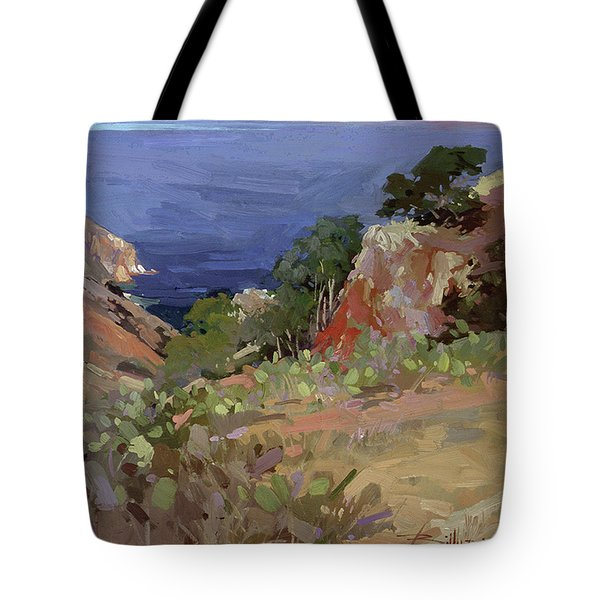 Ironwoods At Goat Harbor Tote Bag