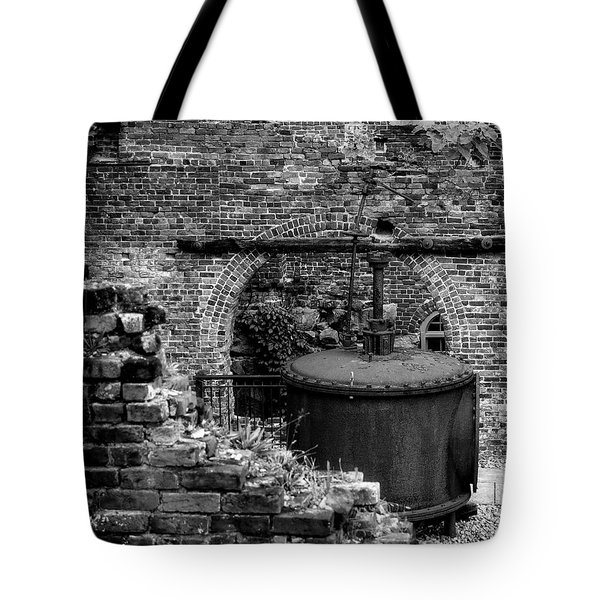 Ironworks Remains Tote Bag