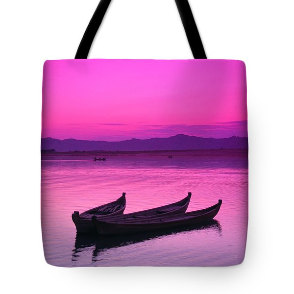 Irrawaddy River Tote Bag