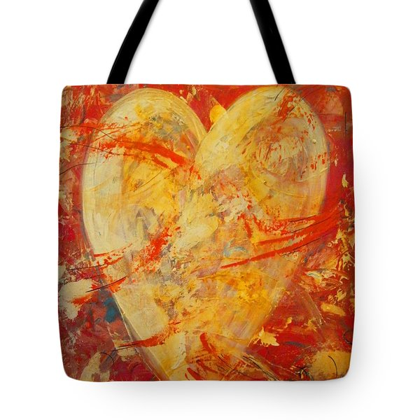 Irrefutable Heart Tote Bag