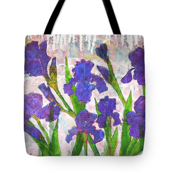Irresistible Irises Tote Bag