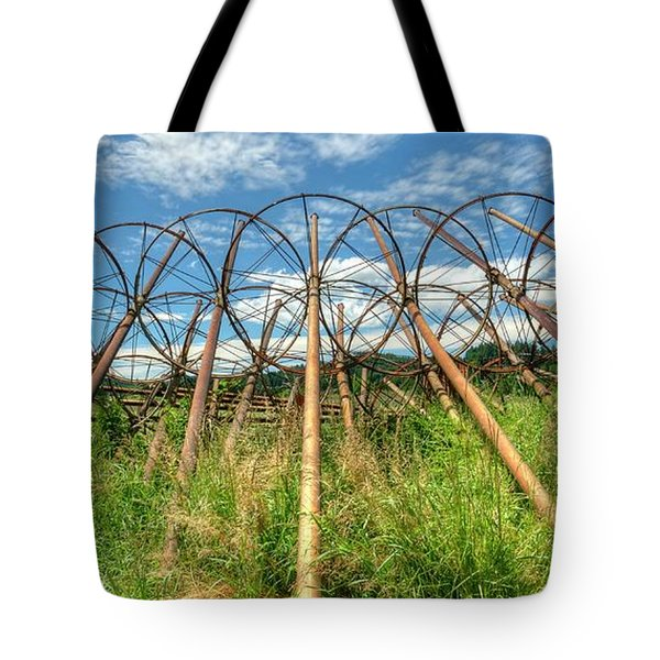 Irrigation Pipes 1 Tote Bag