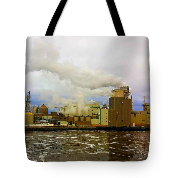 Irving Pulp Mill #3 Tote Bag