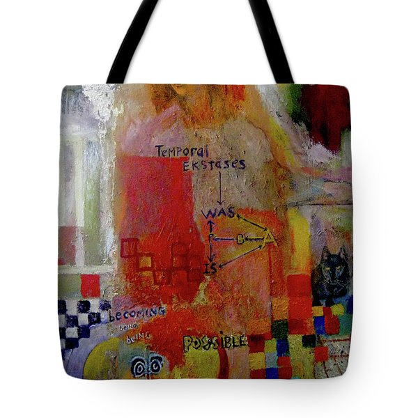Is All Temporal Illusion? Tote Bag