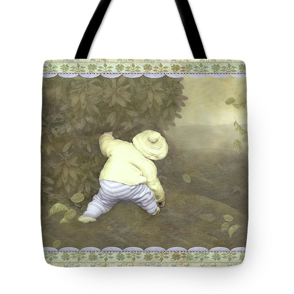Is Bunny In Bushes? Tote Bag