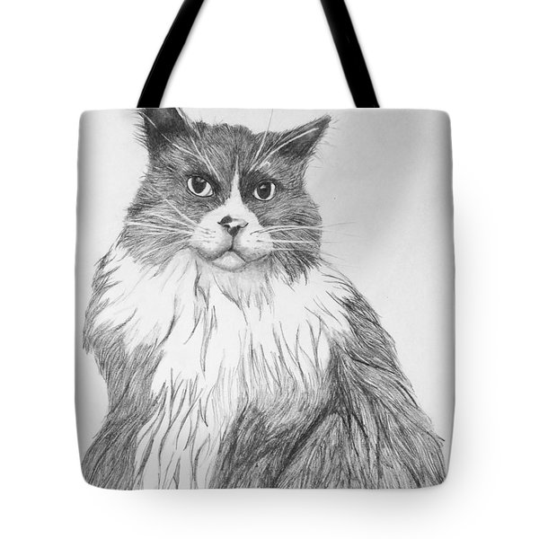 Tote Bag featuring the drawing Is It Dinner Time by John Stuart Webbstock