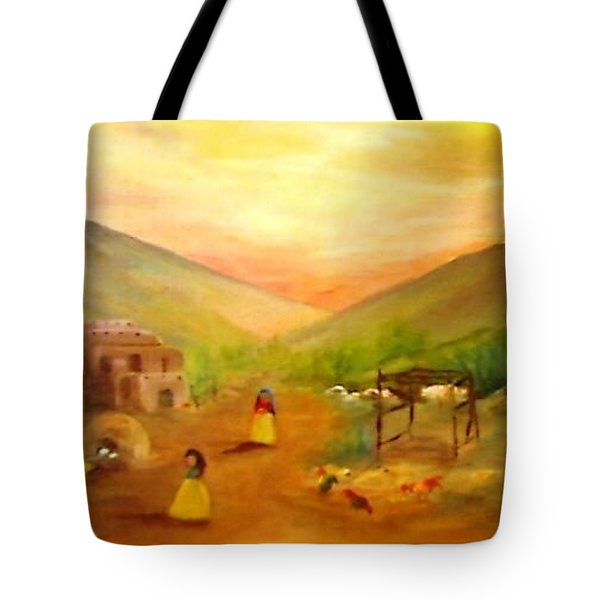 Is It Done Yet? Tote Bag by Connie Gregory