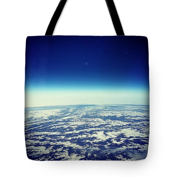 Orbiting Detroit Tote Bag