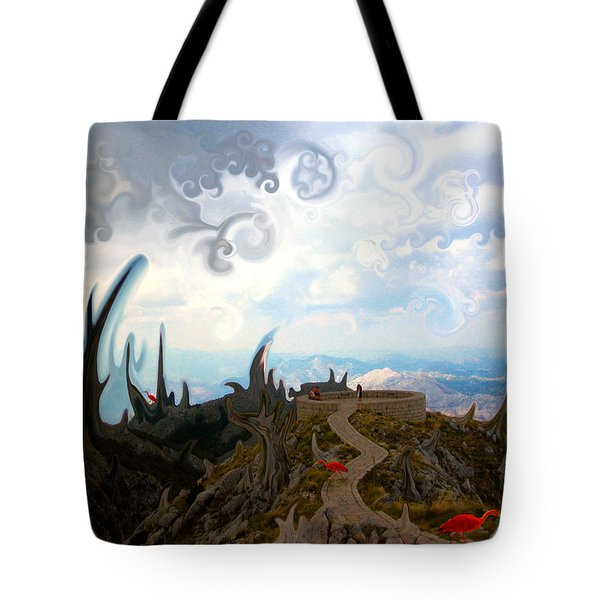 Is It  Tote Bag by Marko Mitic