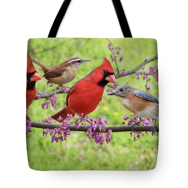 Tote Bag featuring the photograph Is It Spring Yet? by Bonnie Barry