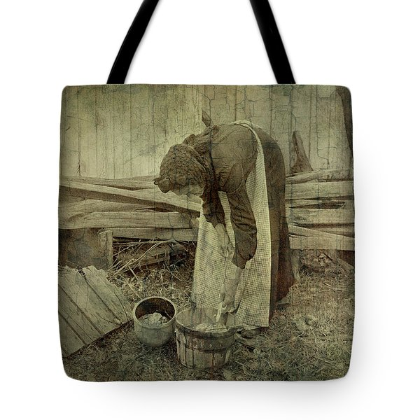 Is Never Done Tote Bag