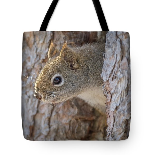 Is Someone There? Tote Bag