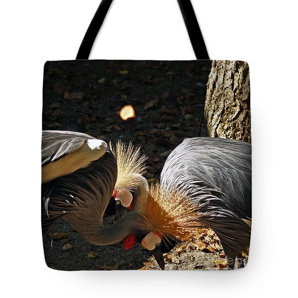 Is That A Wig You Are Wearing Tote Bag by Patricia Griffin Brett