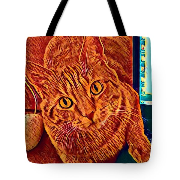 Is There A Mouse In The House? Tote Bag