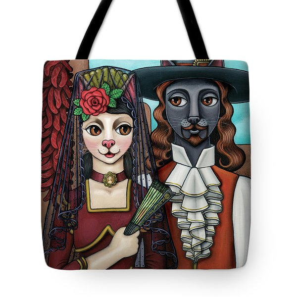 Cats Of Spain Tote Bag