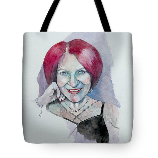 Isabella Tote Bag by Ray Agius
