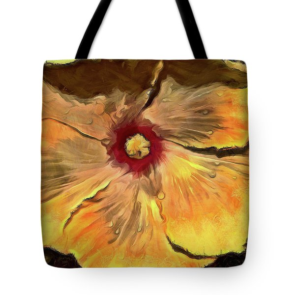 Tote Bag featuring the mixed media Isabella by Trish Tritz