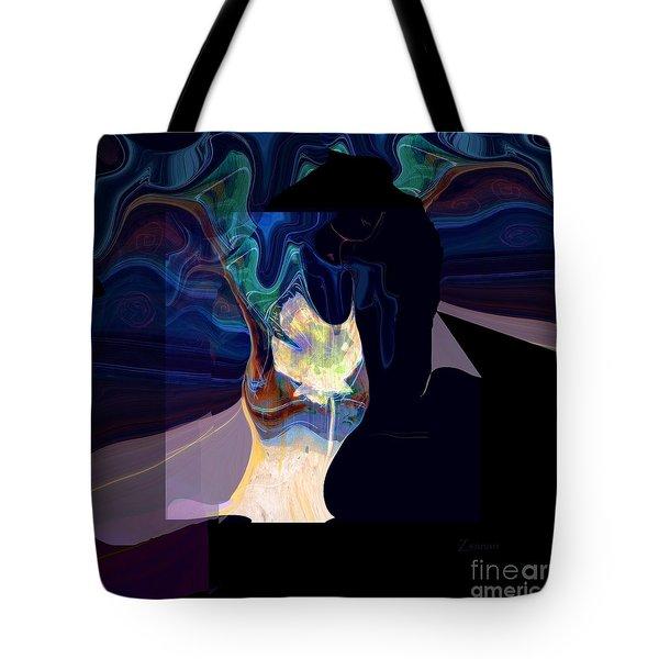 Isadora Scarf Tote Bag