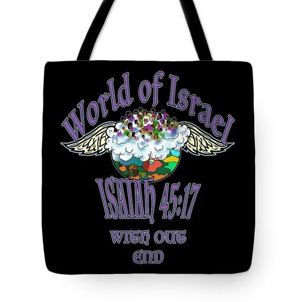 Isaiah 45 Verse 17 Tote Bag