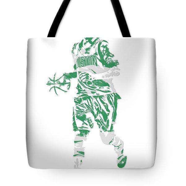 Isaiah Thomas Boston Celtics Pixel Art 17 Tote Bag