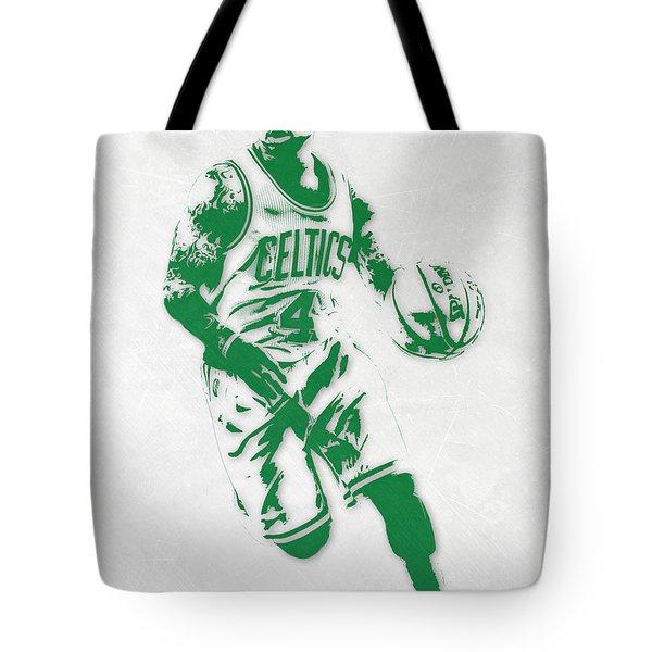 Isaiah Thomas Boston Celtics Pixel Art 2 Tote Bag