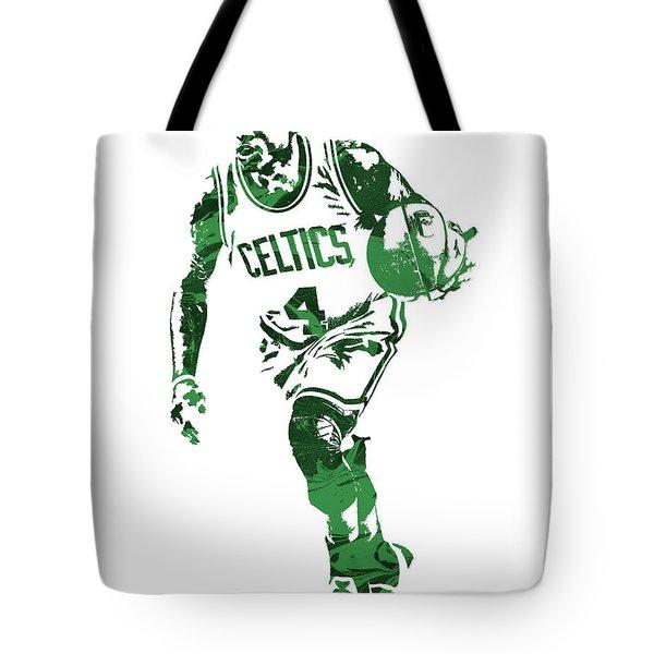 Isaiah Thomas Boston Celtics Pixel Art 4 Tote Bag