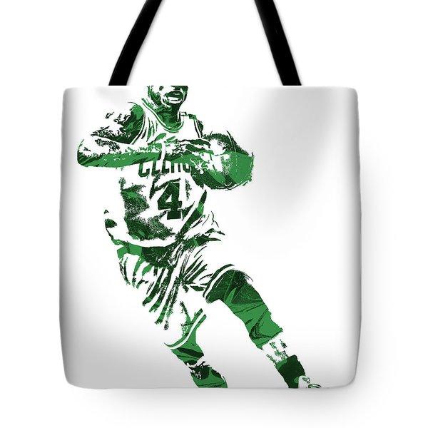 Isaiah Thomas Boston Celtics Pixel Art 5 Tote Bag
