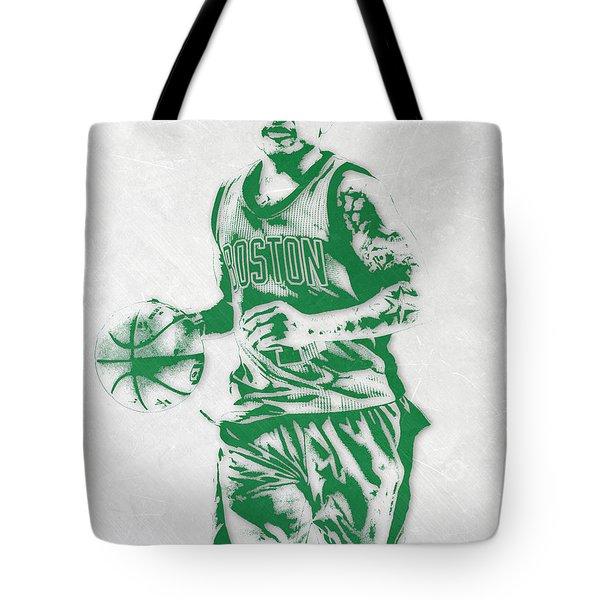 Isaiah Thomas Boston Celtics Pixel Art Tote Bag