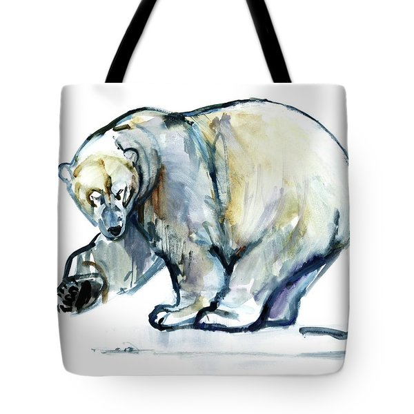 Isbjorn Tote Bag by Mark Adlington