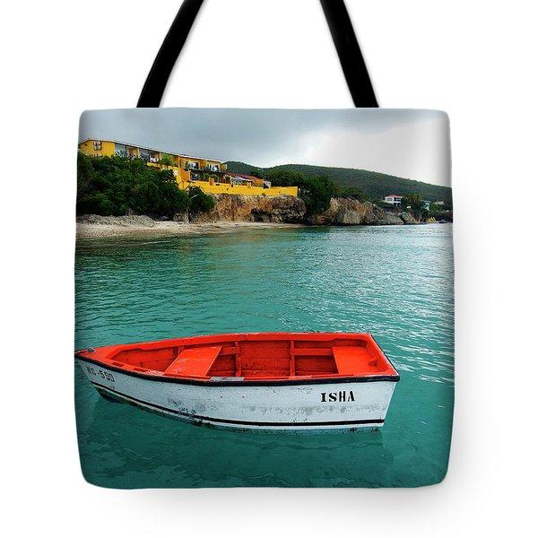 Tote Bag featuring the photograph Isha by Kurt Van Wagner